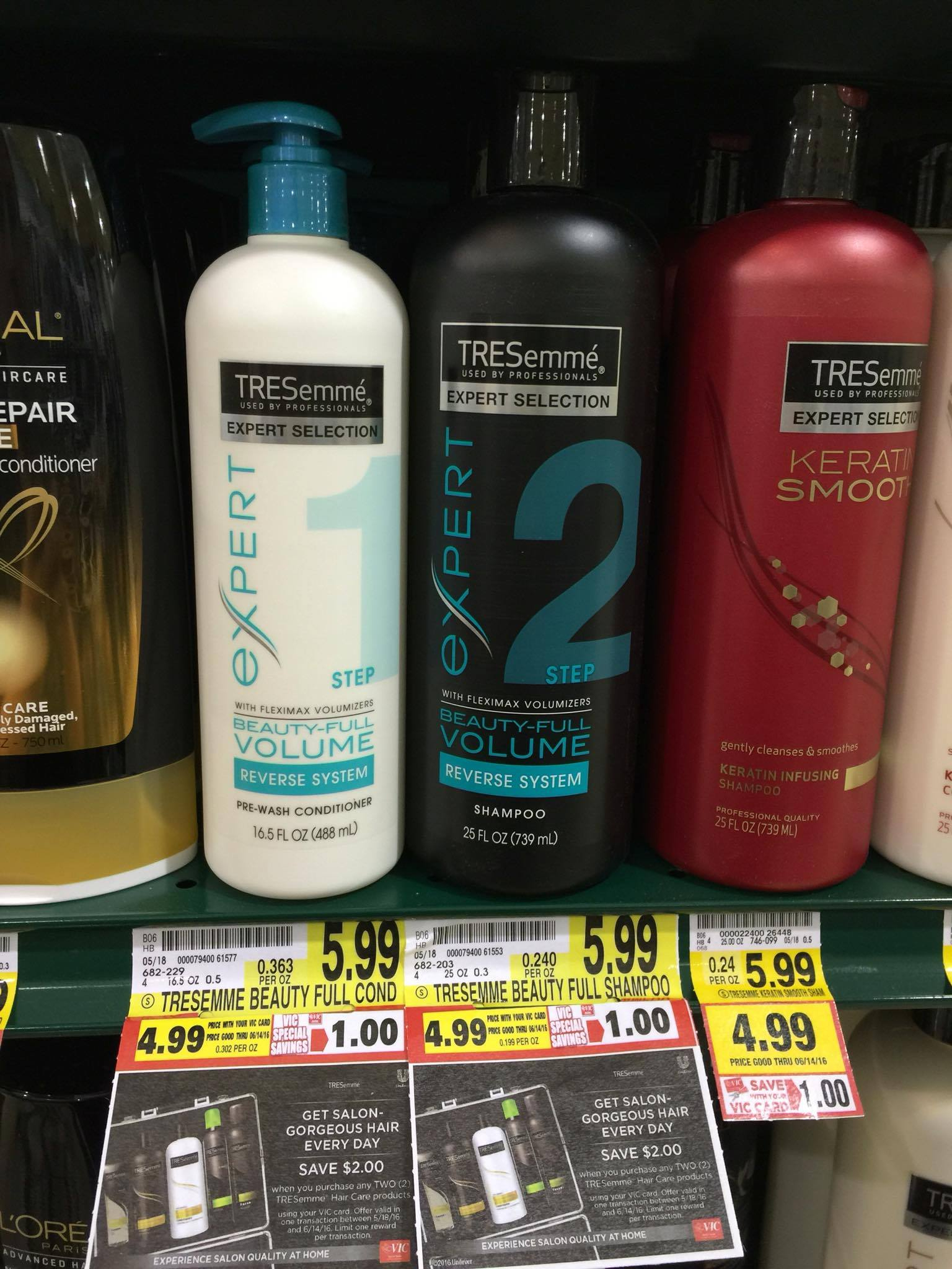 Possibly? Free Tresemme Expert Reverse System! - The Harris Teeter Deals - Free Printable Tresemme Coupons