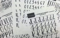 Free Printable Calligraphy Worksheets