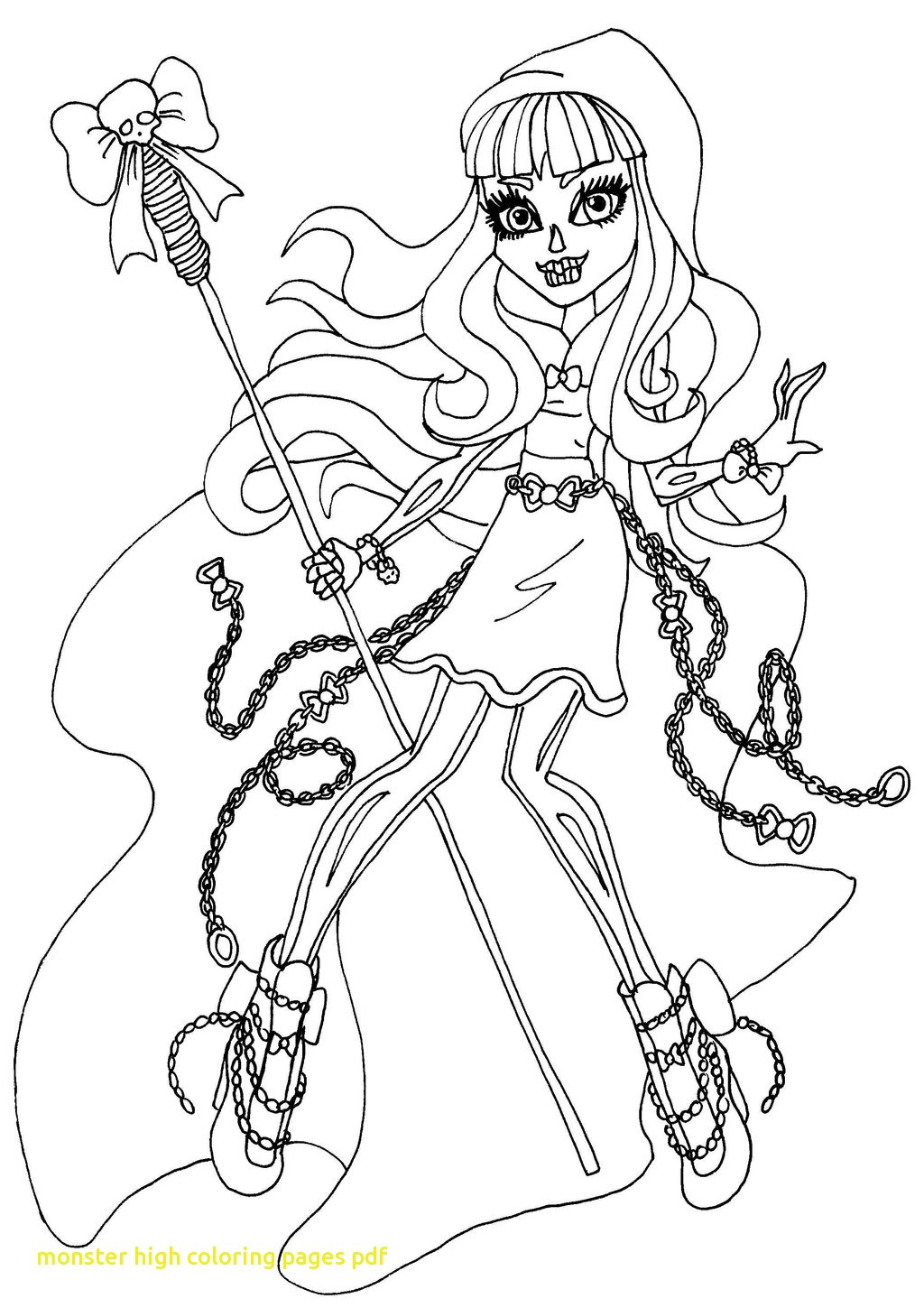 Premium Thanksgiving Monster High Coloring Pages 19 Free Printable - Monster High Free Printable Pictures
