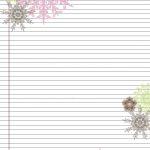 Pretty Printable Stationery Free | Stationery Products | Free   Free Printable Stationery