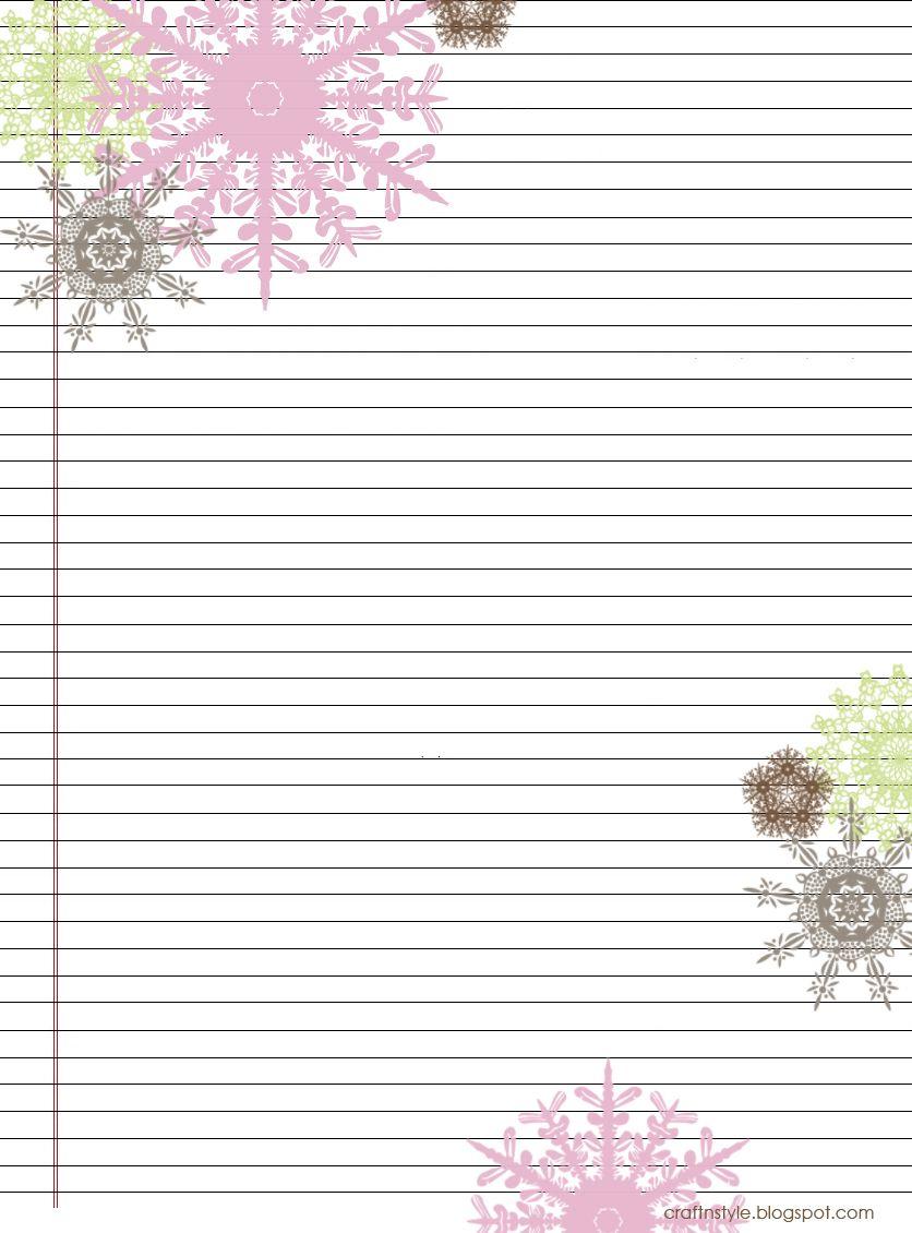 Pretty Printable Stationery Free | Stationery Products | Free - Free Printable Stationery