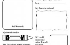 Printable All About Me Poster & All About Me Template Pdf Within - Free Printable All About Me Poster