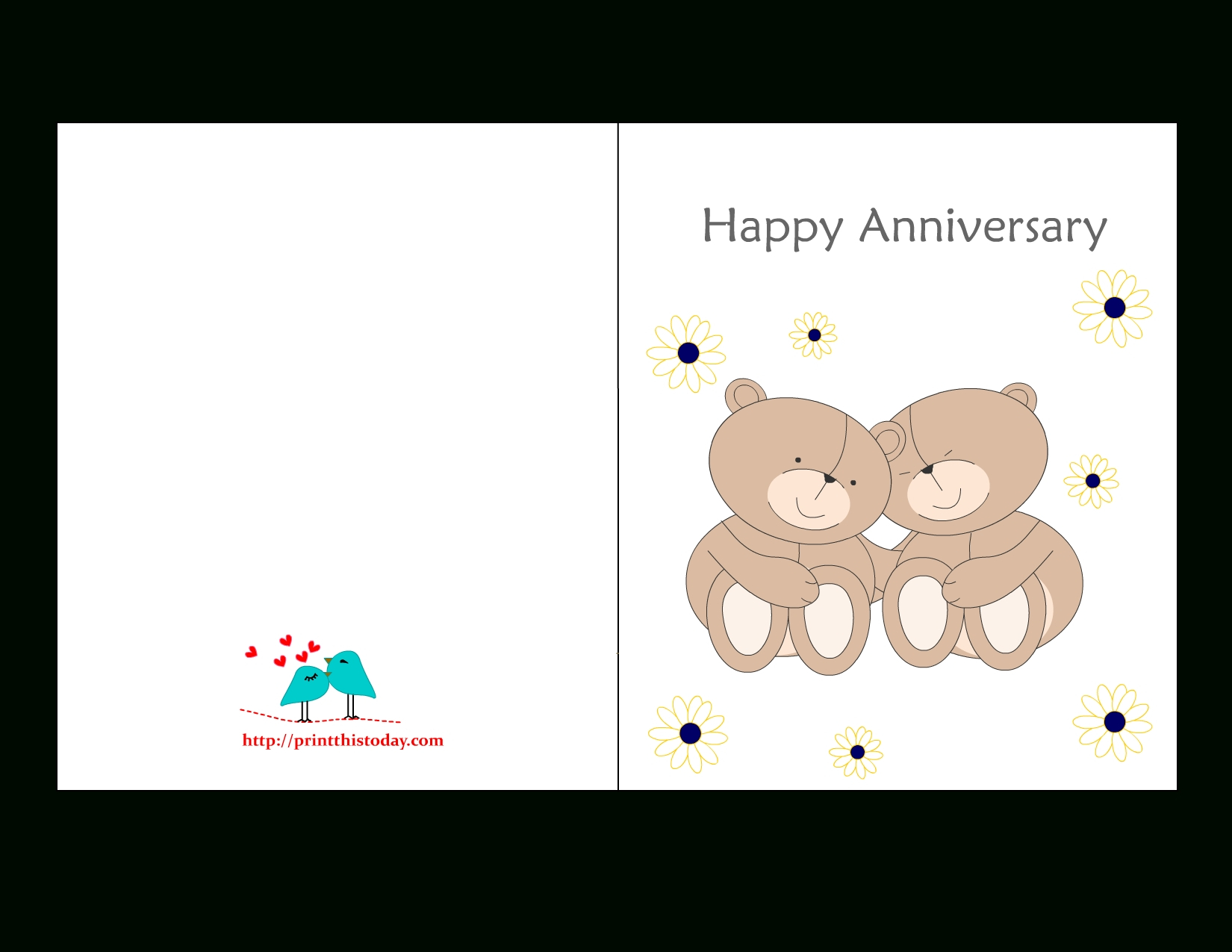 Printable Anniversary Cards For Free | Bestprintable231118 - Printable Cards Free Anniversary