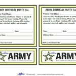 Printable Army Invitations   Coolest Free Printables | For Rhett   Free Printable Camouflage Invitations