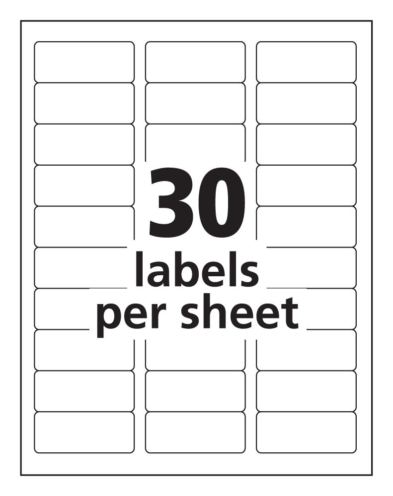 Printable Avery Labels Template | Download Them Or Print - Free Printable Christmas Address Labels Avery 5160