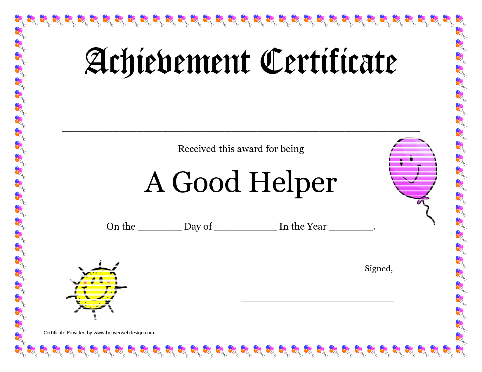 Printable Award Certificates For Teachers | Good Helper Printable - Free Printable Certificates For Teachers