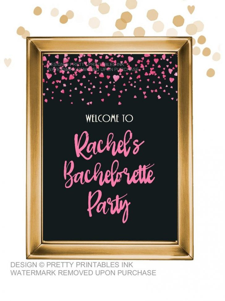 Free Printable Bachelorette Signs