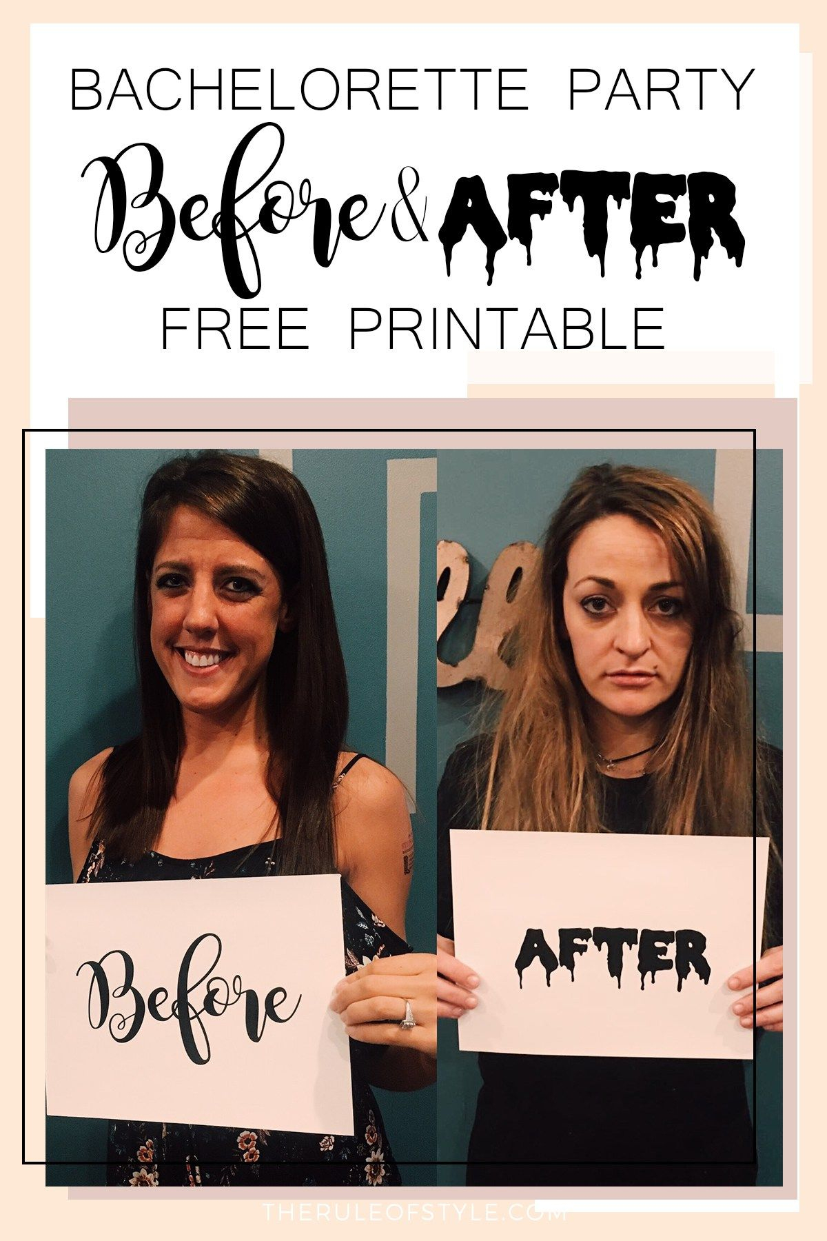 Printable Bachelorette Signs | Download Them Or Print - Free Printable Bachelorette Signs