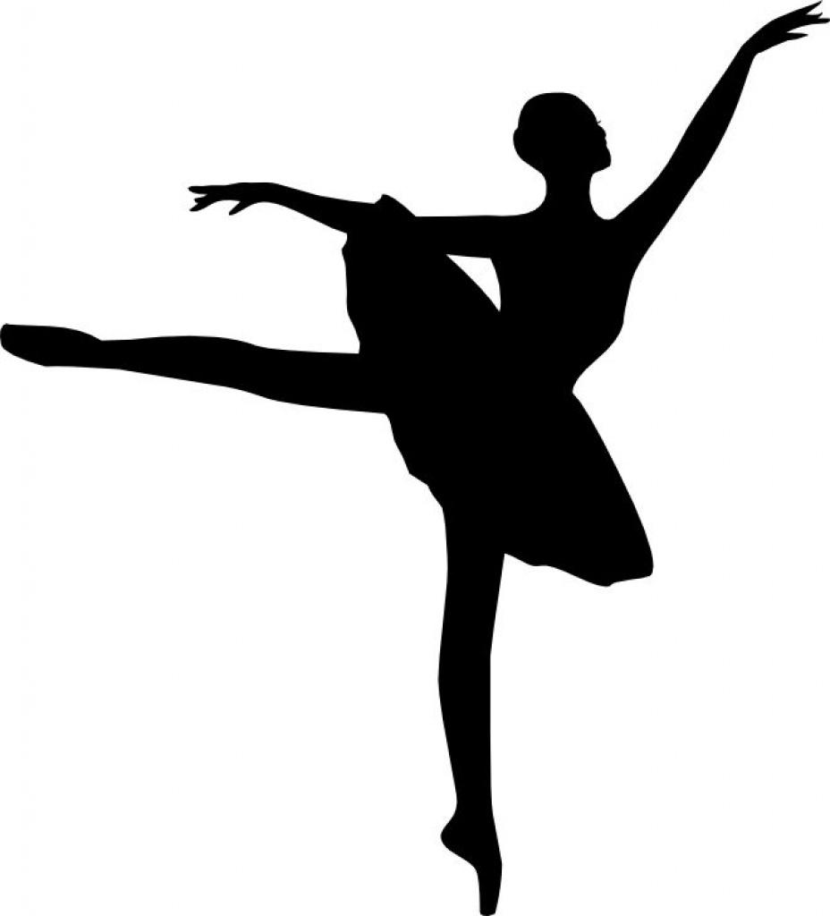 Printable Ballerina Silhouette At Getdrawings | Free For Pertaining - Free Printable Ballerina Silhouette