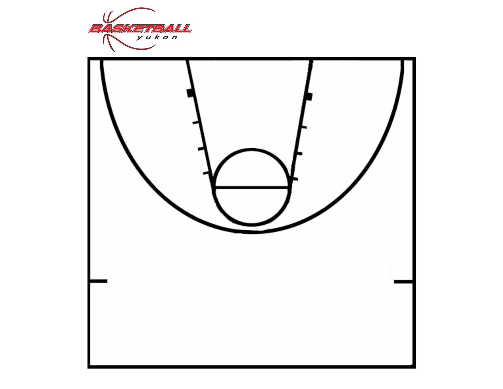Printable Basketball Court | Clipart Panda - Free Clipart Images - Free Printable Basketball Court