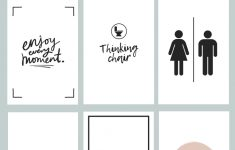 Printable Bathroom Signs | Being Mrs Mcintosh – Free Printable Funny Office Signs