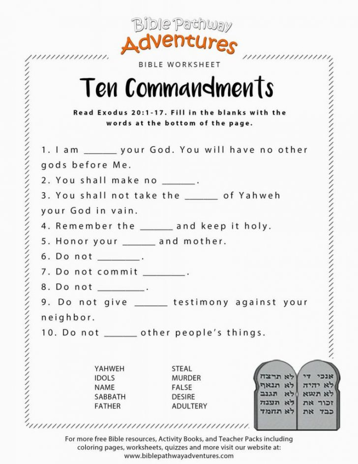 Free Printable Bible Study Lessons For Adults
