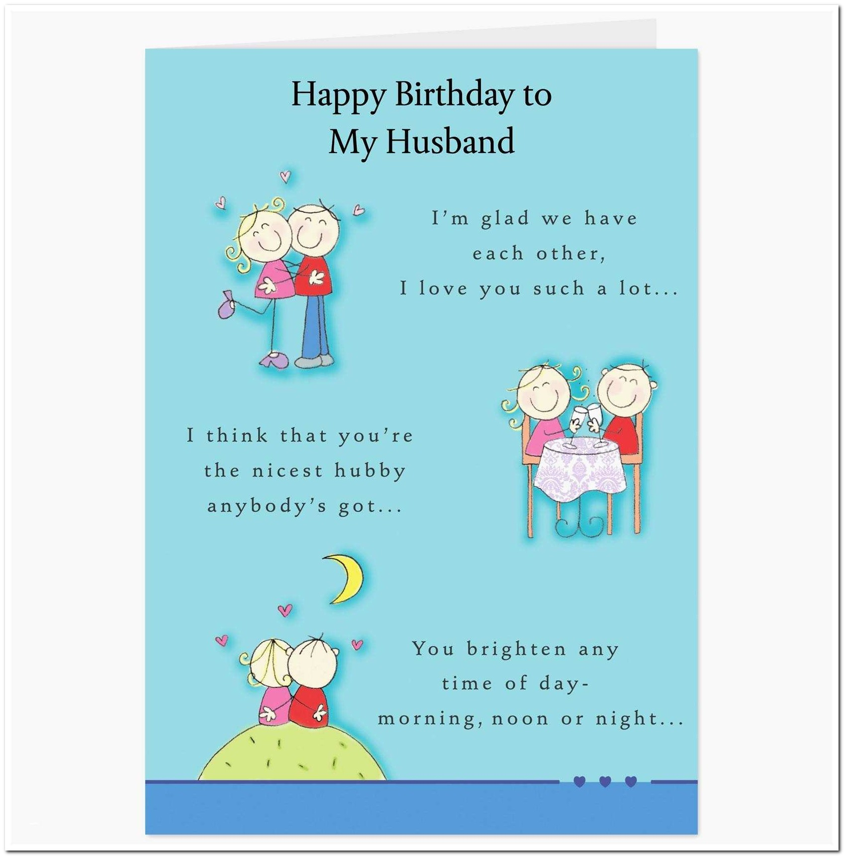 Printable Birthday Cards For Husband Beautiful 20 Elegant Funny - Free Printable Birthday Cards For Husband