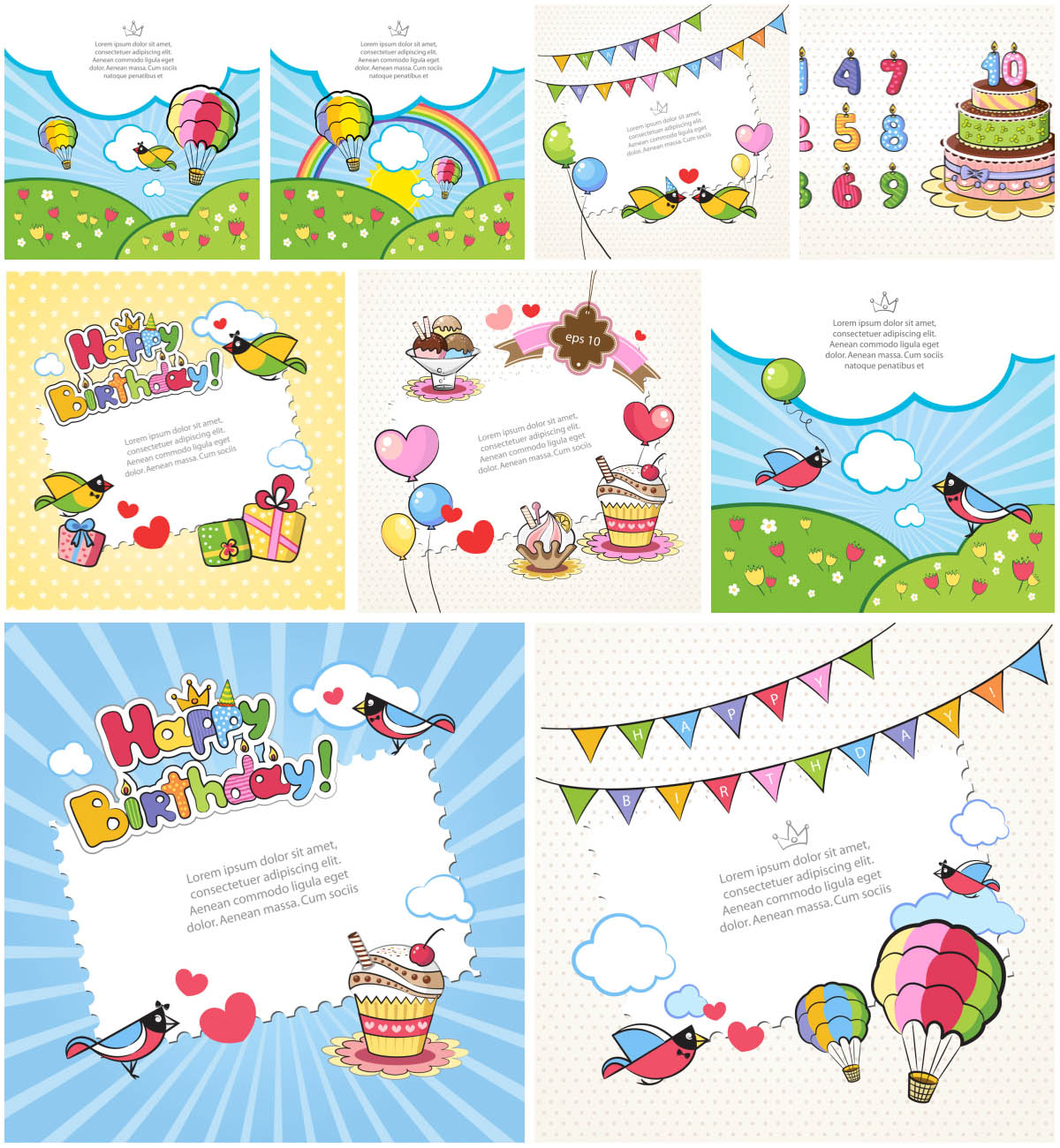 Printable Birthday Cards For Kids   Vector Graphics Blog - Free Printable Birthday Cards For Boys