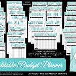 Printable Budget Planner/finance Binder Update   All About Planners   Free Printable Financial Binder