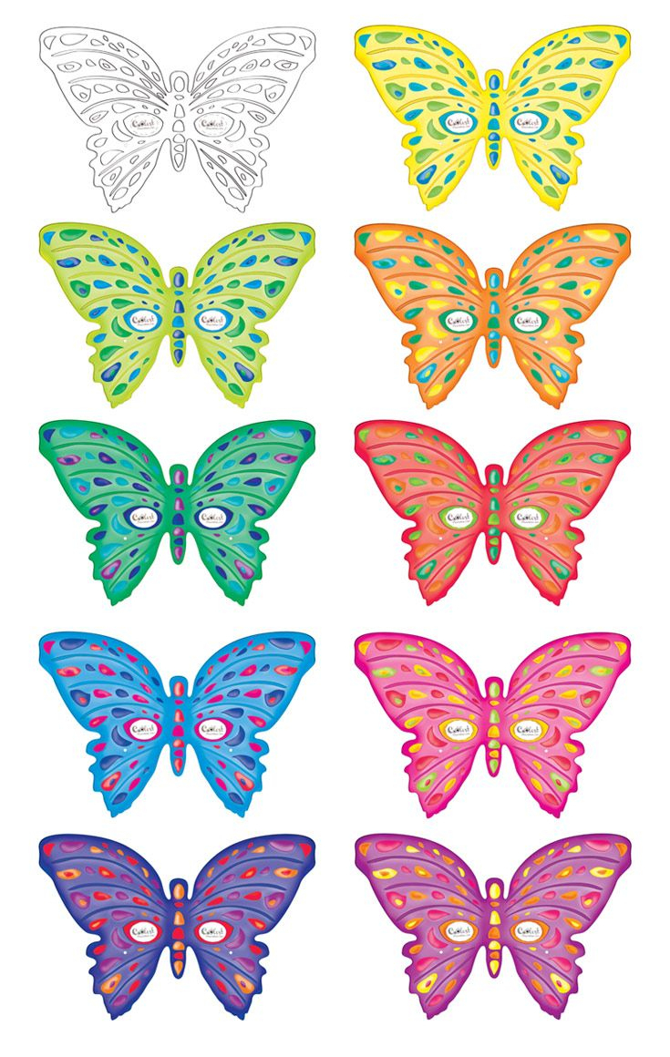 Printable Butterfly Masks - Coolest Free Printables   Saving - Free Printable Butterfly Cutouts