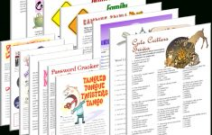 Printable Camping Games – Fun Games | Free Games | Fun Stuff To Do – Free Printable Camping Games