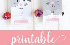 Printable Cat Valentine Day Cards | Pinterest - Free Printable Cat Valentine Cards