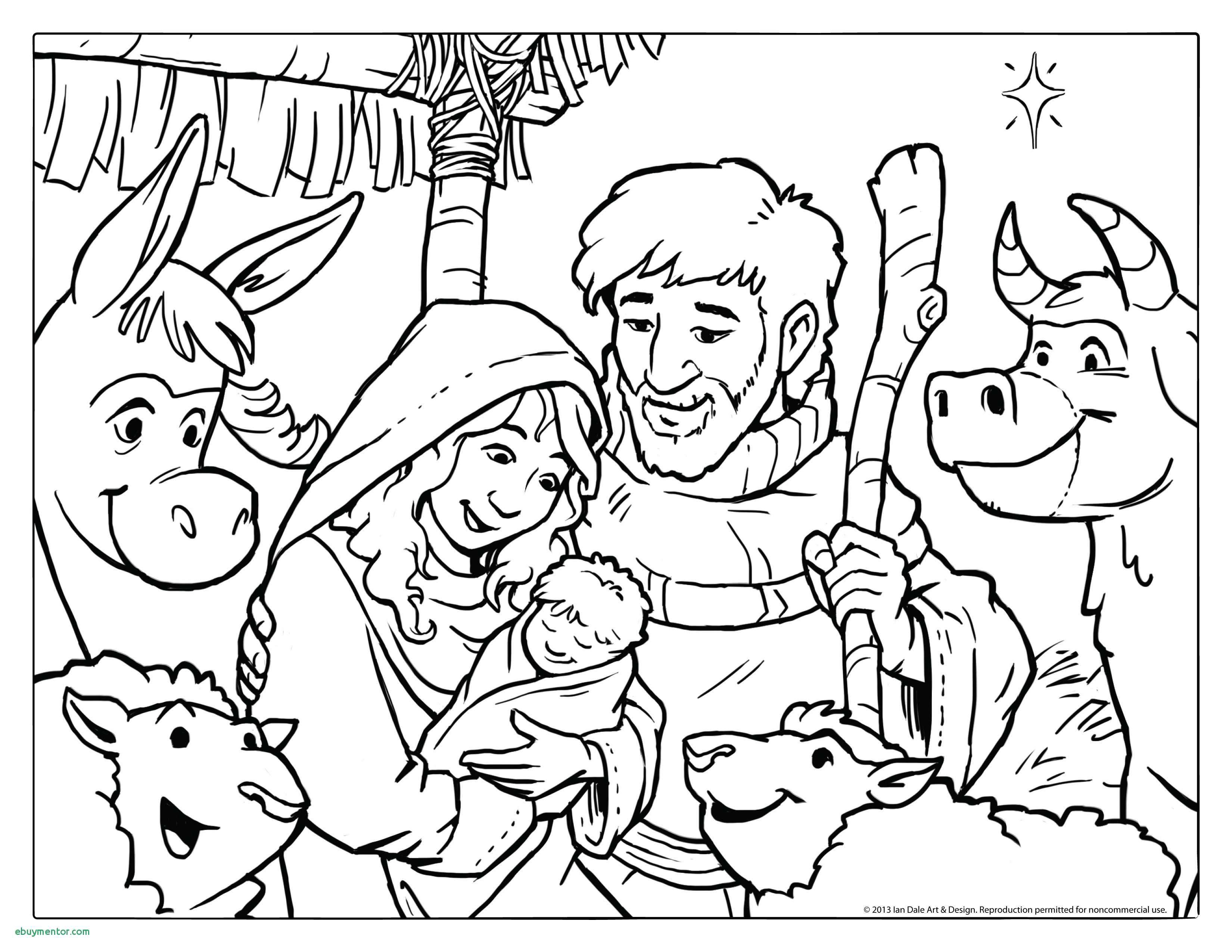 Printable Christmas Coloring Page Snowy Church With Icicles. New - Free Printable Bible Christmas Coloring Pages