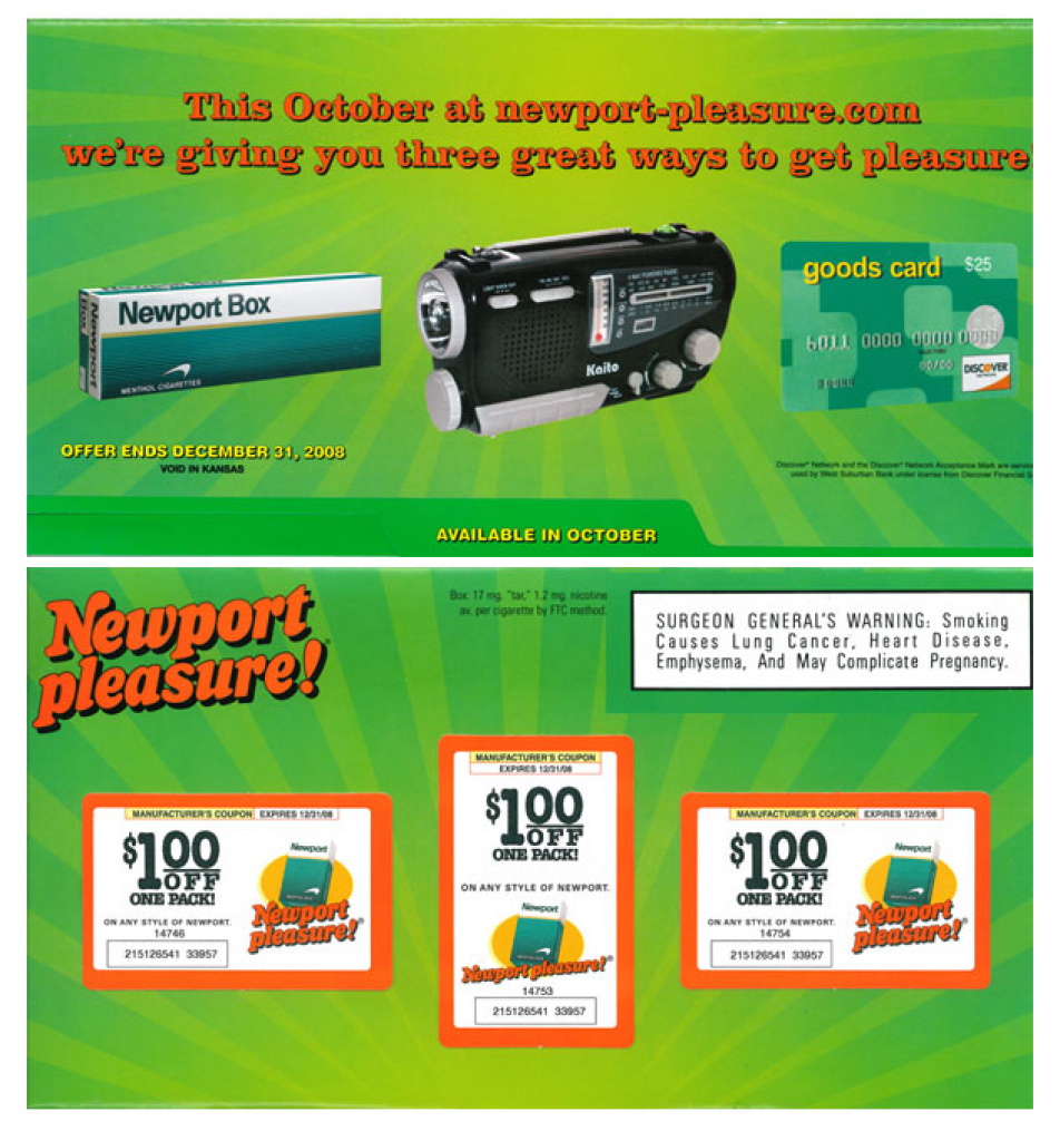 Printable Cigarette Coupons 2015 - Free Camel, Marlboro, Usa Coupons - Free Printable Newport Cigarette Coupons