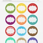 Printable Circle Labels Free Printable Jar Label Templates Made   Free Printable Jar Label Templates