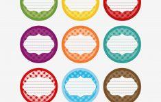 Printable Circle Labels Free Printable Jar Label Templates Made - Free Printable Jar Label Templates