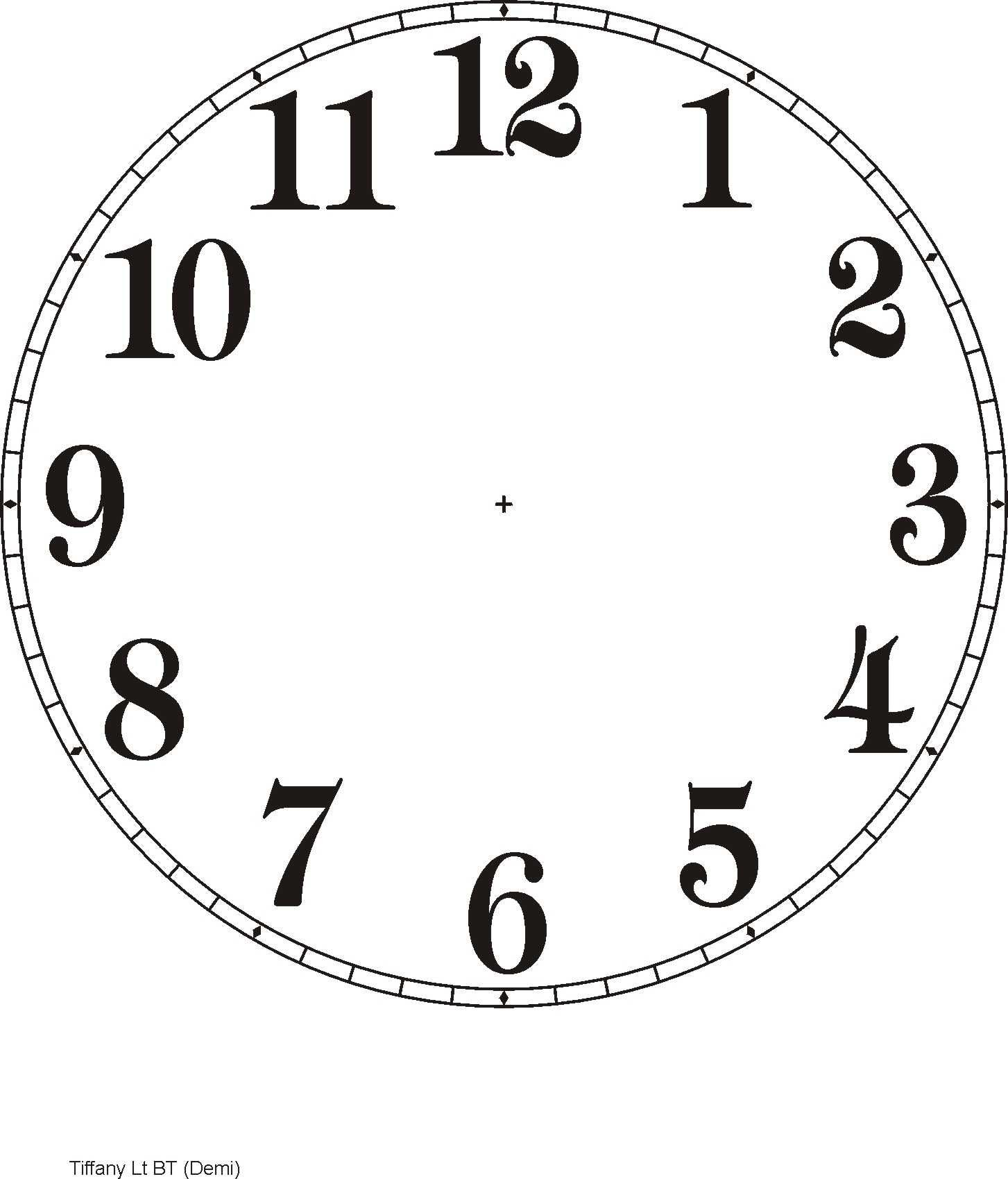 Printable Clock Templates | Here Are A Few Examples: | Diy Clocks - Free Printable Clock Faces