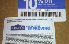 Free Printable Lowes Coupon 2014