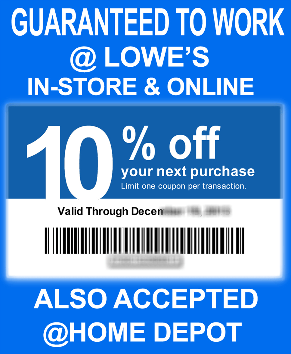 Printable Coupons Home Depot Lowes – Jowo - Free Printable Lowes Coupon 2014