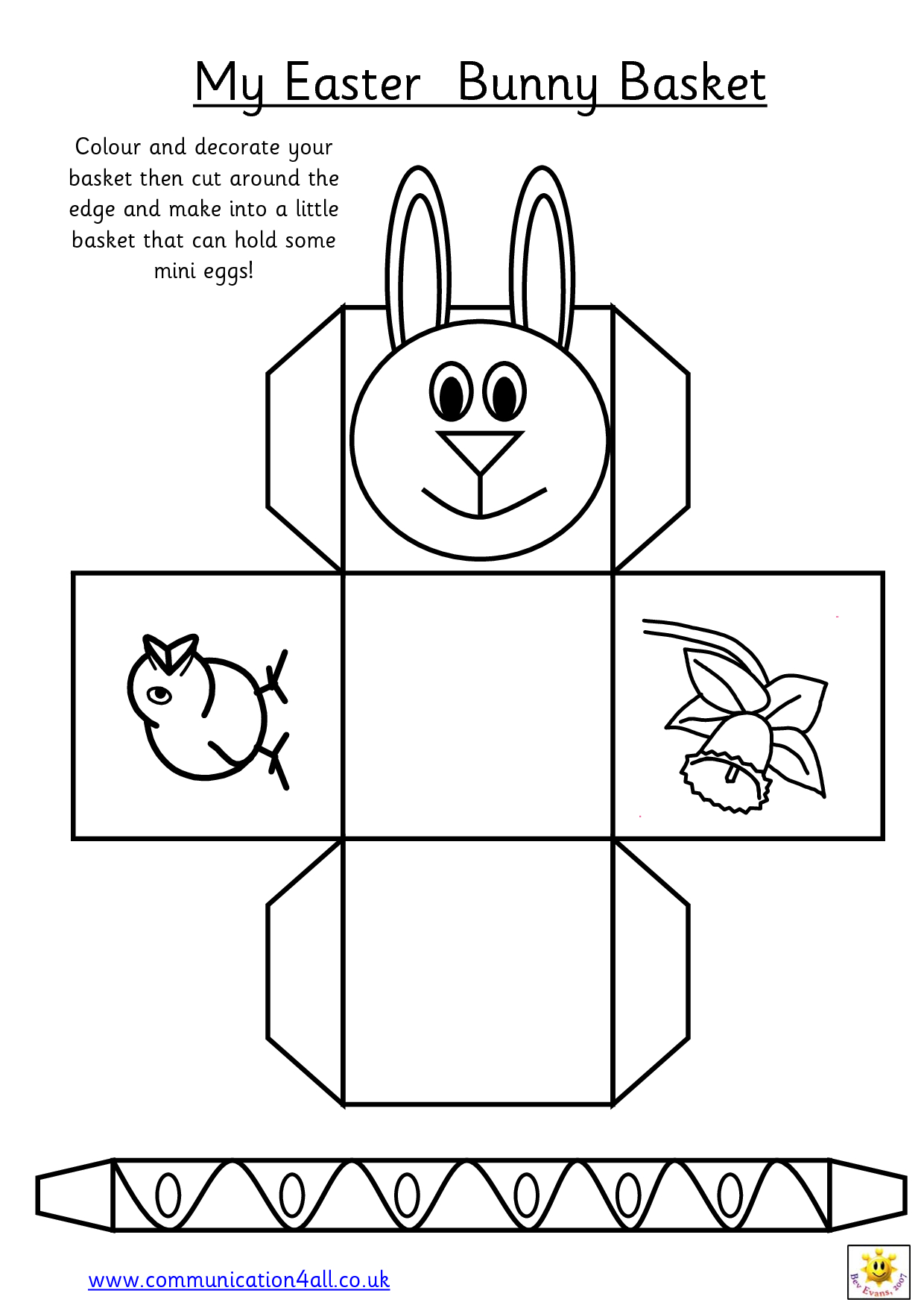 Printable Easter Egg Basket Templates – Hd Easter Images - Free Printable Easter Stuff