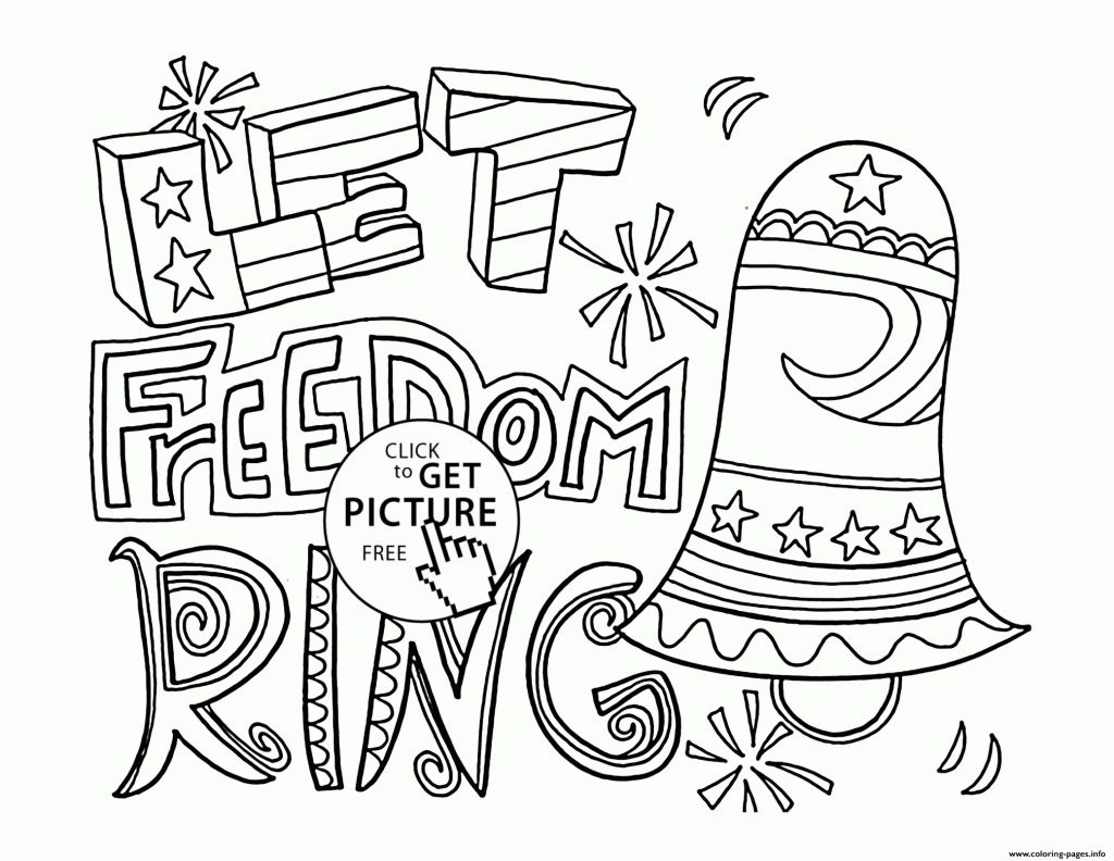 Printable Fourth Of July Coloring Pages #19692 - Free Printable 4Th Of July Coloring Pages