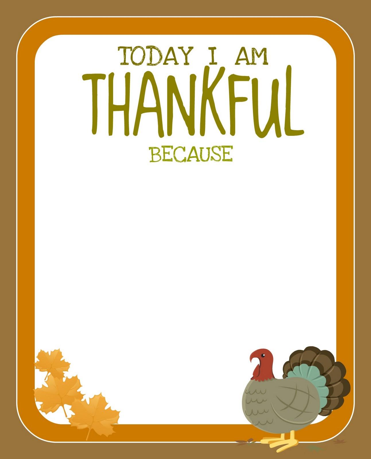 Printable} Free Thanksgiving Printable! - Creative Juice - Free Printable Thanksgiving Images