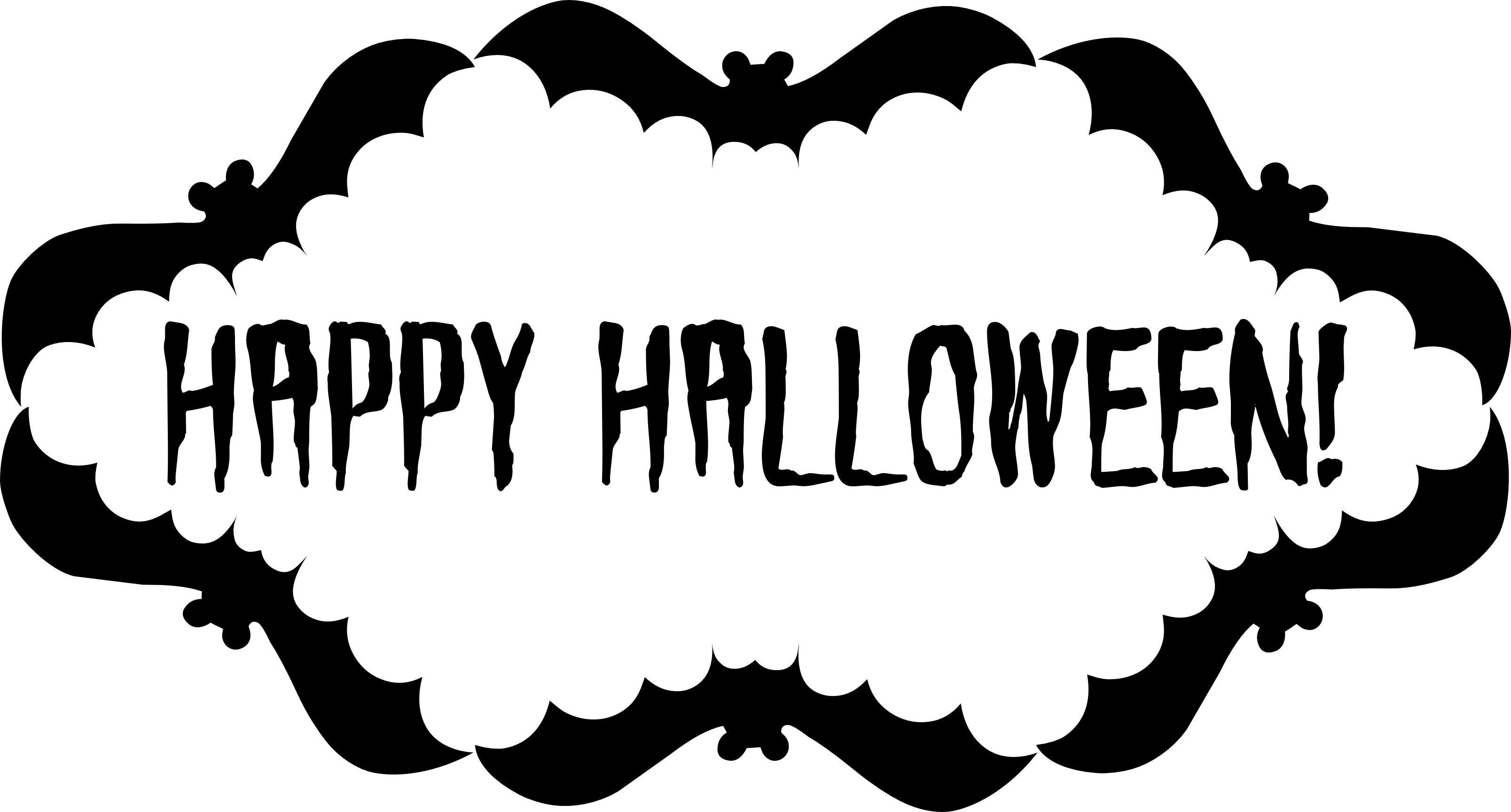Printable Halloween Decorations Template - Here Comes Halloween 2018! - Free Printable Halloween Decorations