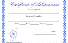 Printable Hard Work Certificates Kids | Printable Certificate Of – Free Printable Honor Roll Certificates Kids