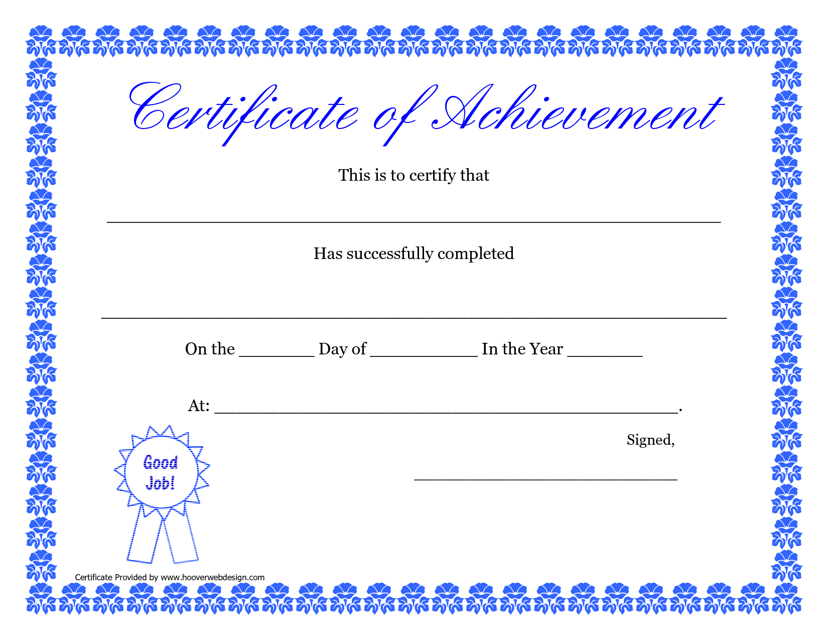 Printable Hard Work Certificates Kids | Printable Certificate Of - Free Printable Honor Roll Certificates Kids