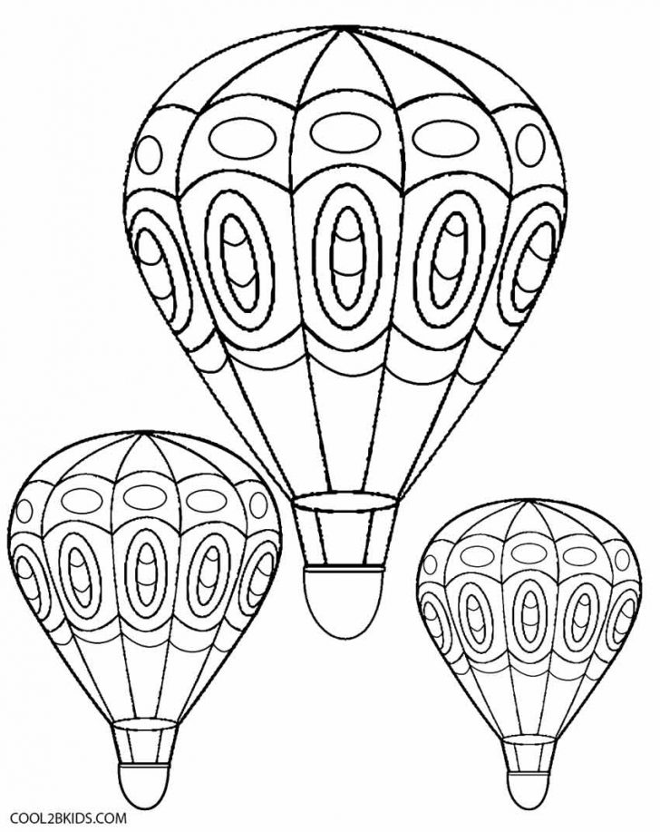 Free Printable Pictures Of Balloons
