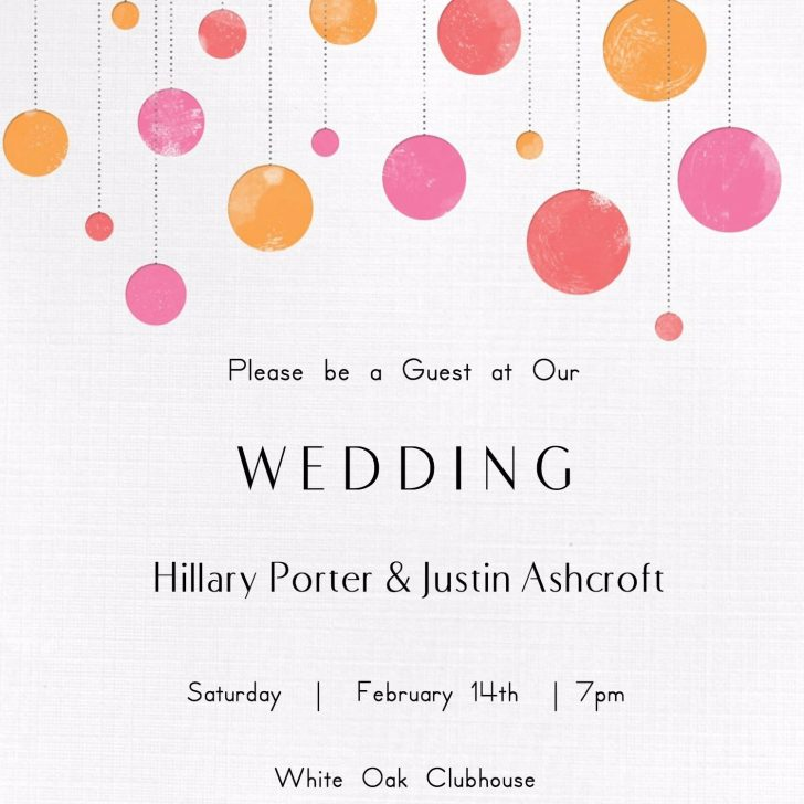 Wedding Invitation Cards Printable Free