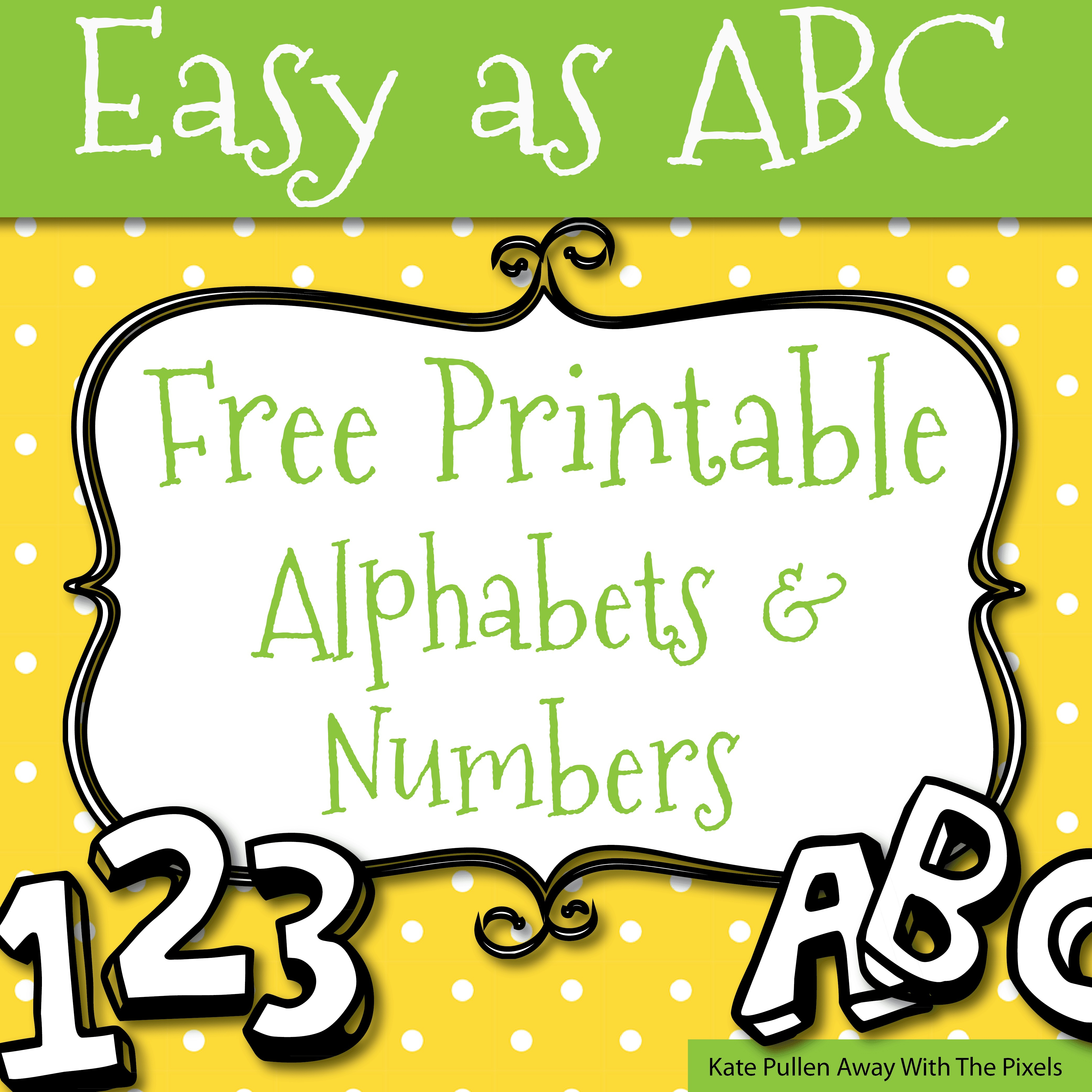 Printable Letter Stencils A4 New Free Printable Letters And Numbers - Free Printable Letters And Numbers