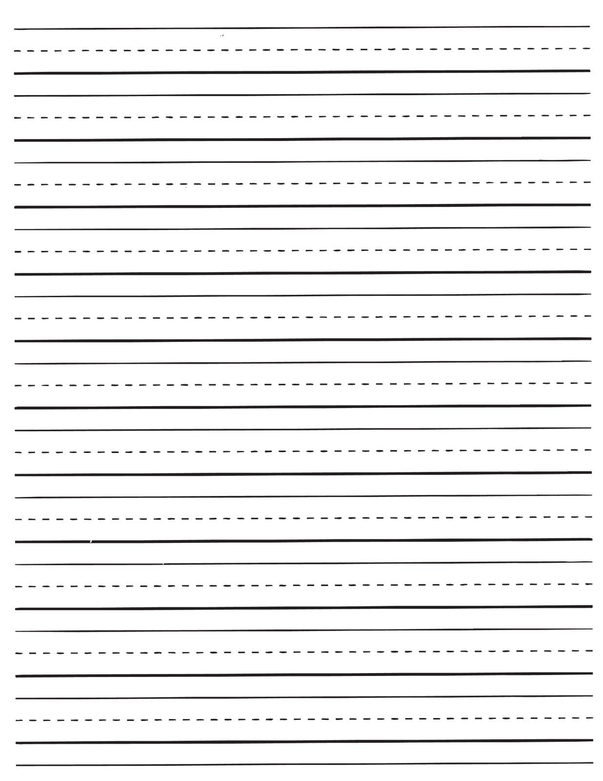 Printable Lined Paper For Kids | World Of Label - Free Printable Lined Handwriting Paper