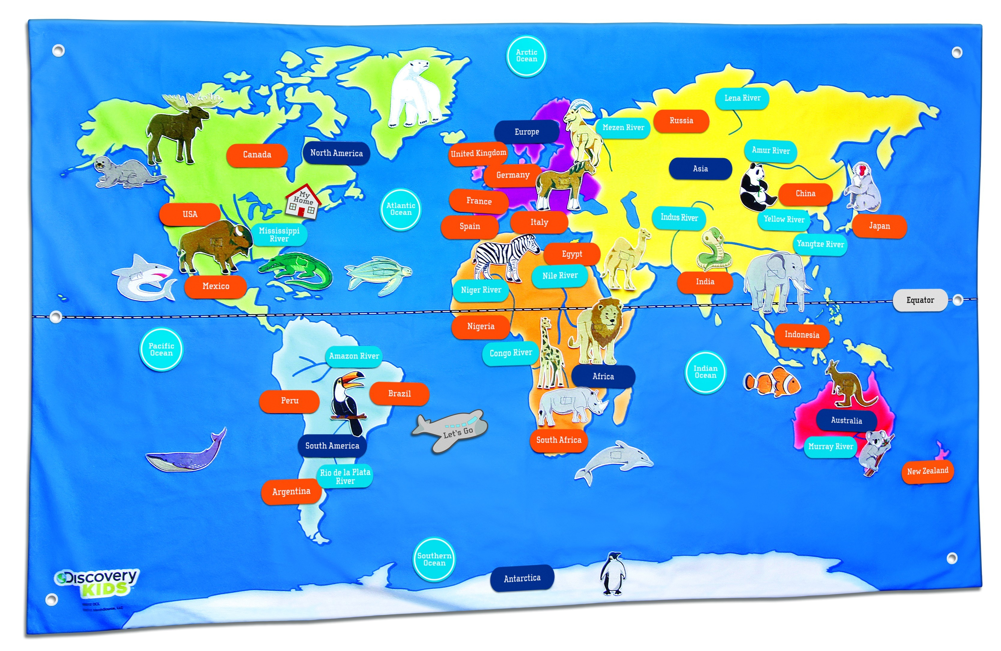 Printable Map Of Asia For Kids - World Wide Maps - Free Printable Maps For Kids