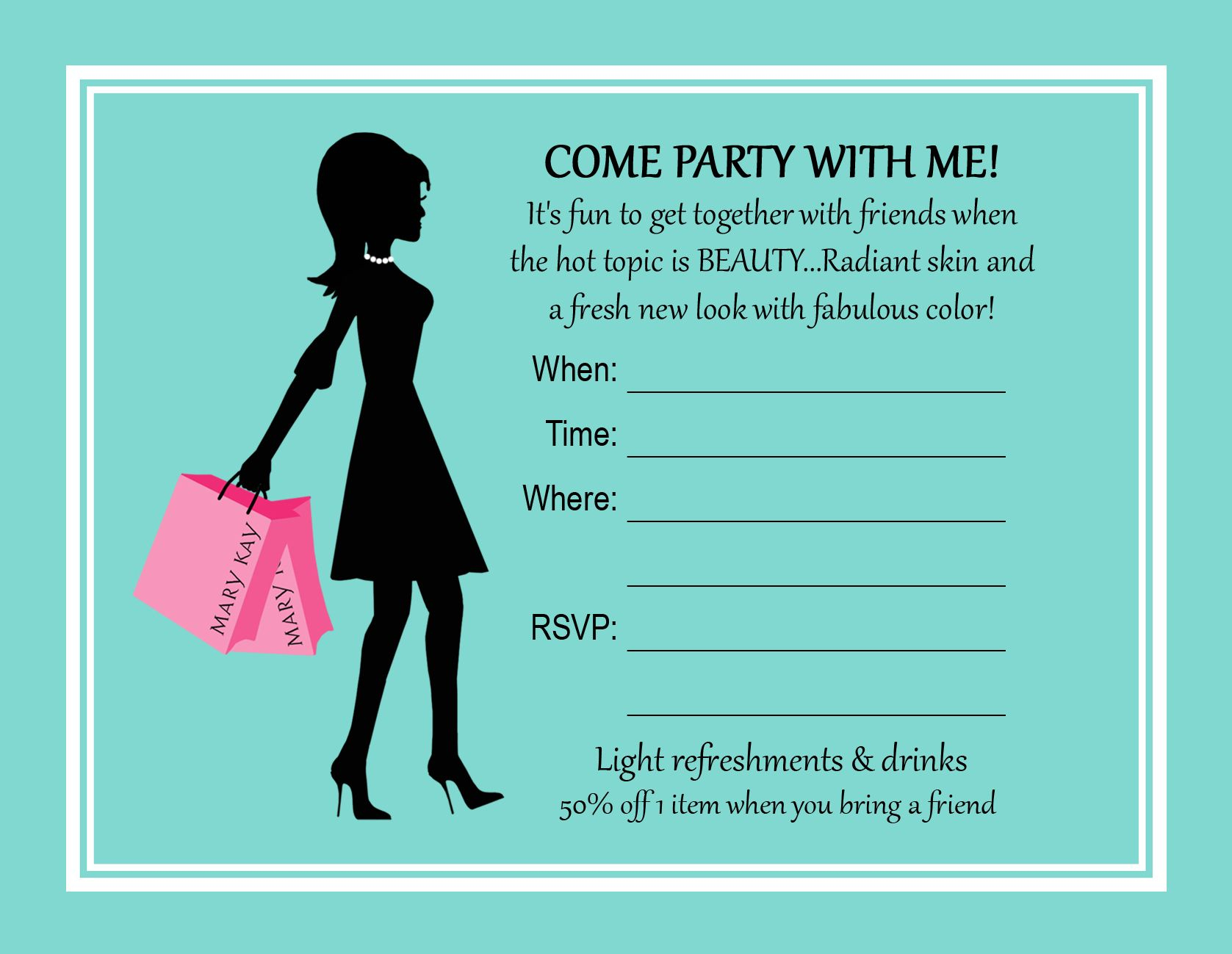 Printable Mary Kay Party Invitations. Mary Kay Party Invitations Www - Mary Kay Invites Printable Free
