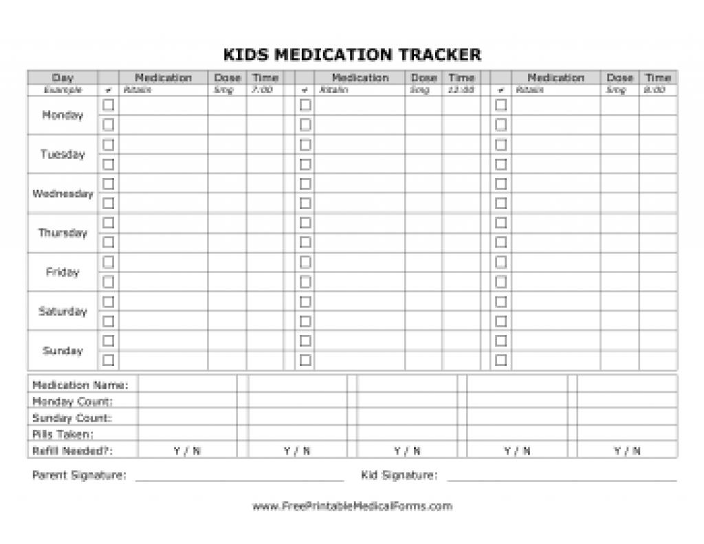 Printable Medicine Chart | Www.topsimages - Free Printable Medicine Daily Chart
