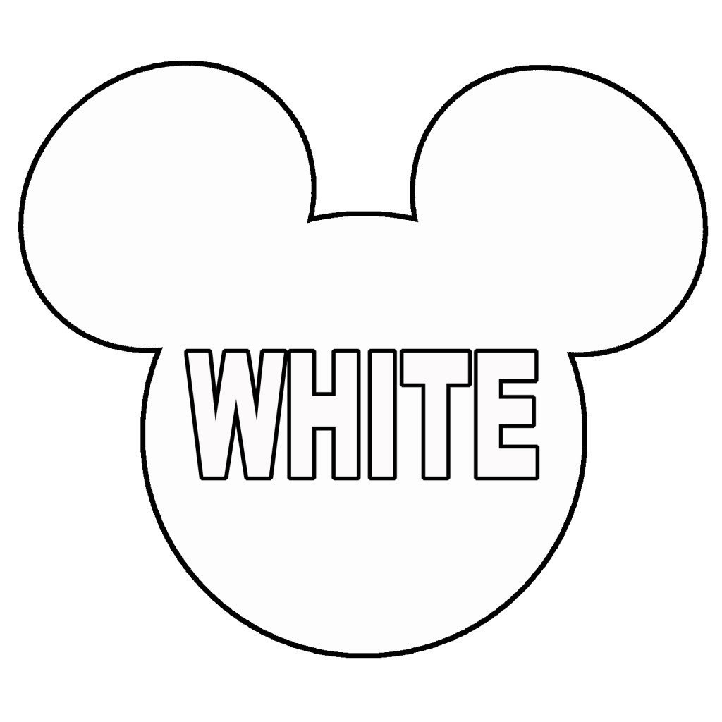 Printable Mickey Mouse Head - Cliparts.co - Free Printable Minnie Mouse Ears Template