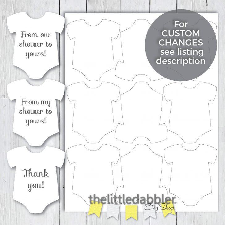 Free Printable Onesie Pattern