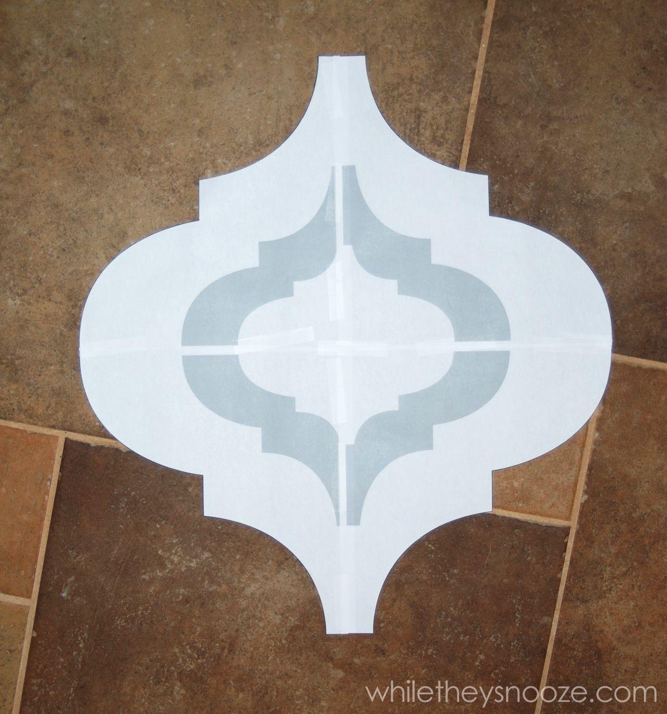 Printable Moroccan Stencils | Free Stencils Collection Print And Cut - Free Printable Moroccan Wall Stencils