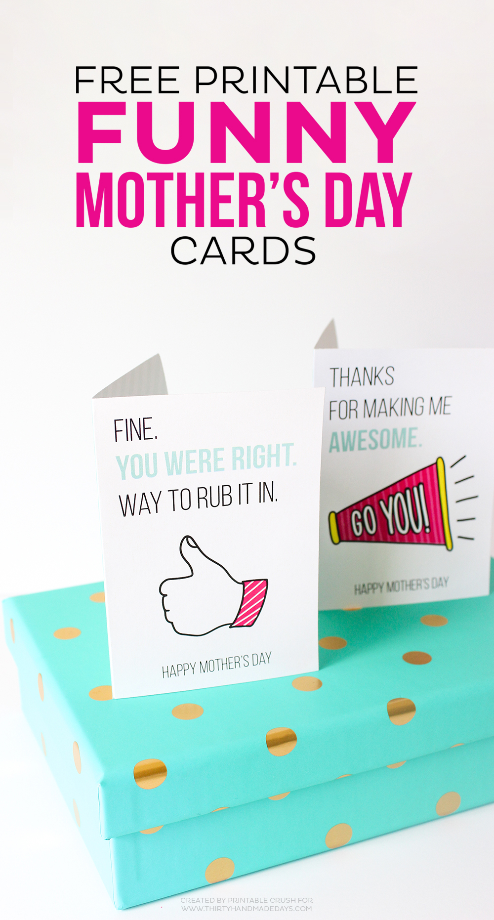 Printable Mother's Day Cards - Free Printable Funny Mother's Day Cards