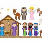 Printable Nativity Scene   Printable 360 Degree With Free Printable   Free Printable Pictures Of Nativity Scenes