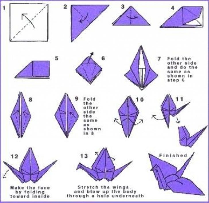 Printable Origami Instructions Free