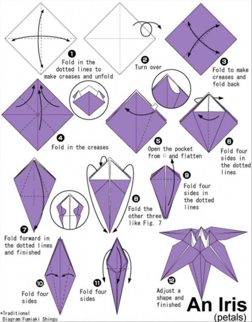Printable Origami Instructions Printable Origami Instructions Free - Printable Origami Instructions Free