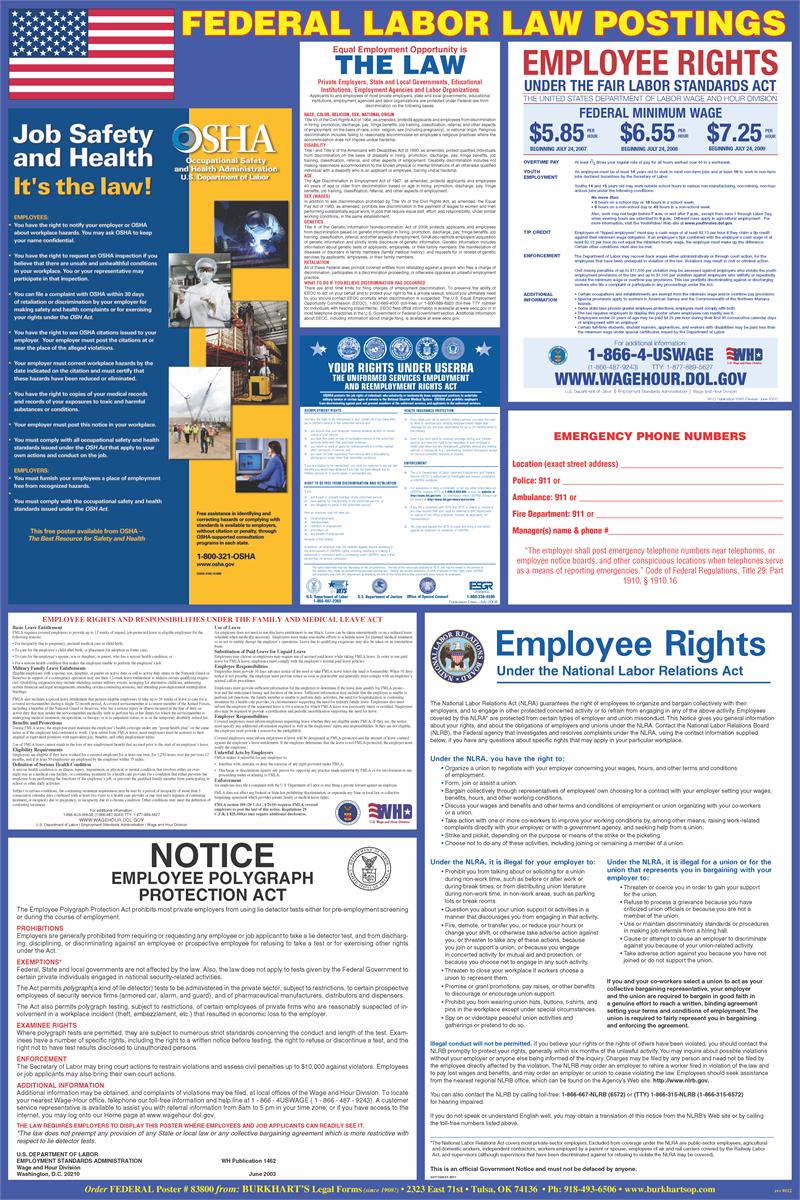 Printable Osha Posters | Download Them Or Print - Free Printable Osha Posters